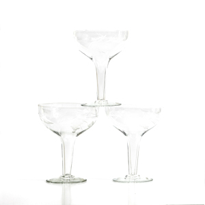 Vintage Hollow Stem Champagne Glasses