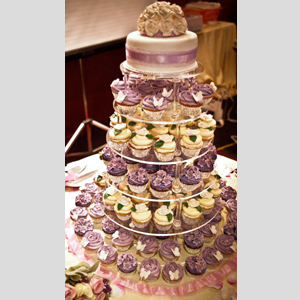 6 Tier Adjustable Cupcake Stand