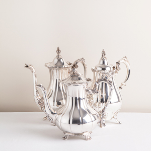 Silver Coffee Pots