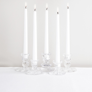 Crystal Short Candle Holder